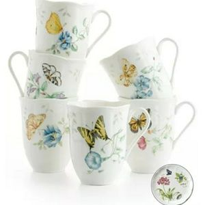 Lenox Butterfly Meadow Mug Collection